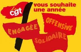 cgt souhaite une année engagée offensive solidaire